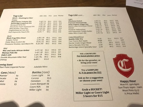 canterbury-tap-list
